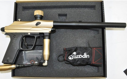 Azodin Kaos Semi-Auto Paintball Gun - Gold/Black