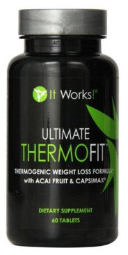 It Works! Ultimate Thermofit Weight Loss Formula with Acai Berry and Capsimax, 60 Count