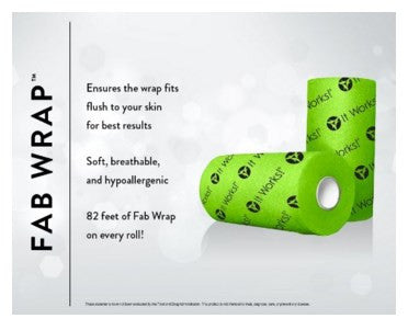 It Works Ultimate Body Applicator Fab Wrap Roll - It Works MUST Have to Maximize your Tightening, Toning, & Firming Results!!! 82 Ft