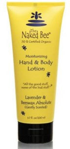 The Naked Bee Lavender & Beeswax Absolute 6.7oz Lotion