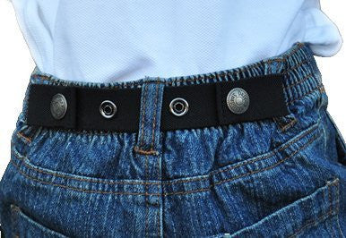 Dapper Snapper Baby & Toddler Adjustable Belt (Black)