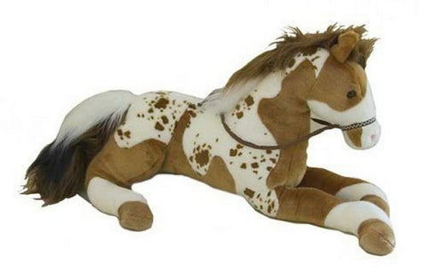 "Canyon Horse Lying Plush 32"" By Douglas Cuddle Toys"
