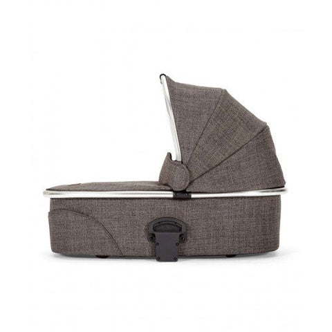 Mamas & Papas 2015 Urbo2 Carrycot Bassinet Chrome for Stroller - Chestnut Tweed