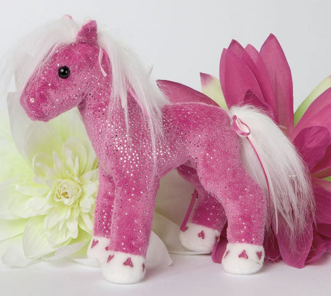 "Gem Sparkle Horse 6"" by Douglas Cuddle Toys"