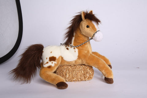 "Glisten Golden Appaloosa 16"" by Douglas Cuddle Toys"