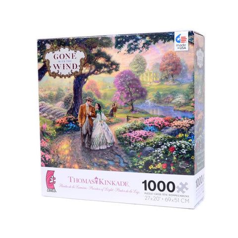 Ceaco Thomas Kinkade WB Movie Classics Gone with the Wind 1000 Piece Puzzle