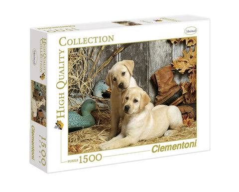 Hunting Dogs 1500 Piece Jigsaw Puzzle