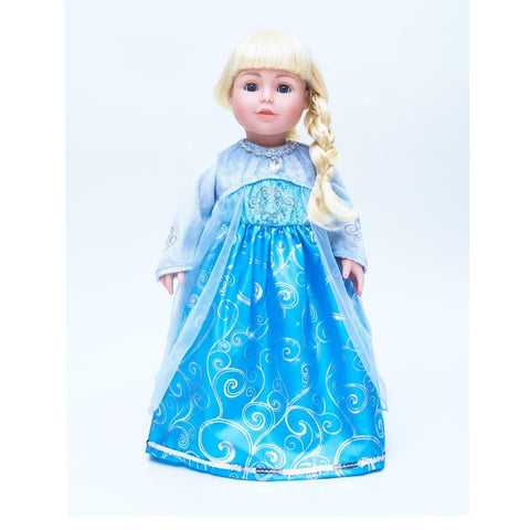 Ice Princess Dress (Doll Size)