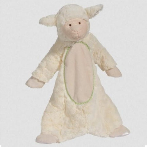 "Lamb Sshlumpie 19"" Long Blanket Stuffed Farm Barn Animal By Douglas Cuddle Toys"