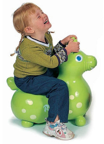 Gymnic Rody Horse Hop & Ride On - Lime Green