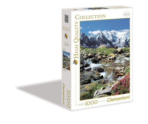 Creative Toy Company High Quality Collection View to Mont Blanc 1000 Piece Puzzle