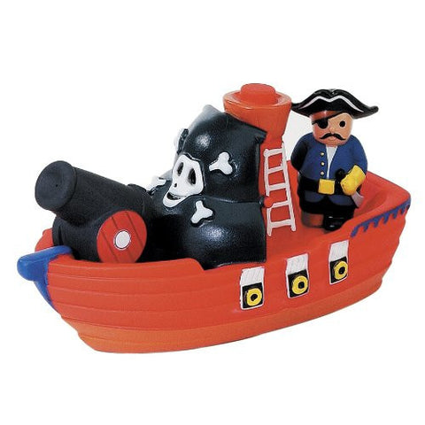D&D Distributing Bath Squirters Pirate Boat