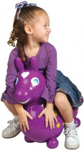 Gymnic Rody Horse Hop & Ride On - Purple