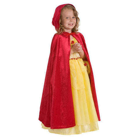 Child Cloak Red S/M