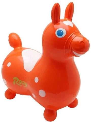 Gymnic Rody Horse Hop & Ride On - Orange