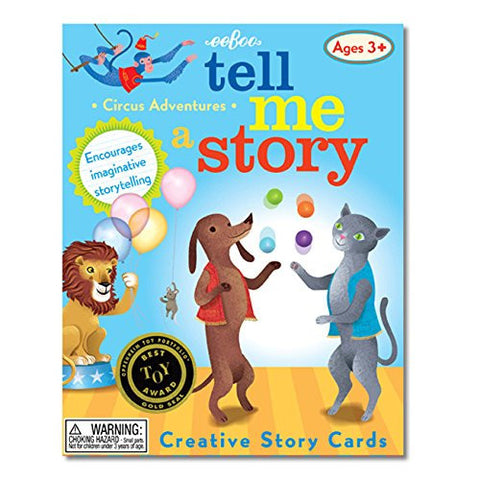 eeboo Tell Me A Story - Circus Animal's Adventure