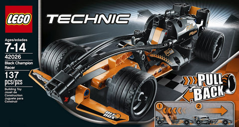 LEGO Technic Black Champion Racer Model Kit