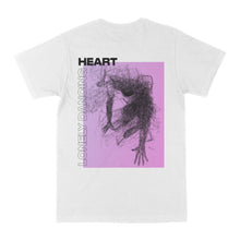 Lade das Bild in den Galerie-Viewer, LONELY DANCING HEART SHIRT (white)