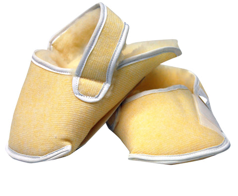 Synthetic Sheepskin Relief Slipper