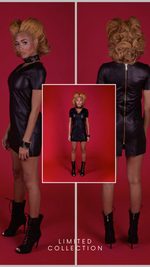 Gia Short Leather Dress