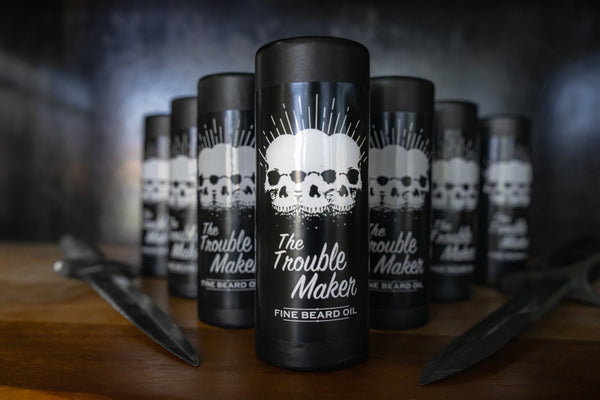 The Trouble Maker Beard Oil 30ml Vintage 2019