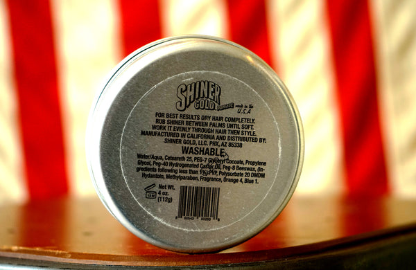 Shiner Gold Pomade Heavy Hold