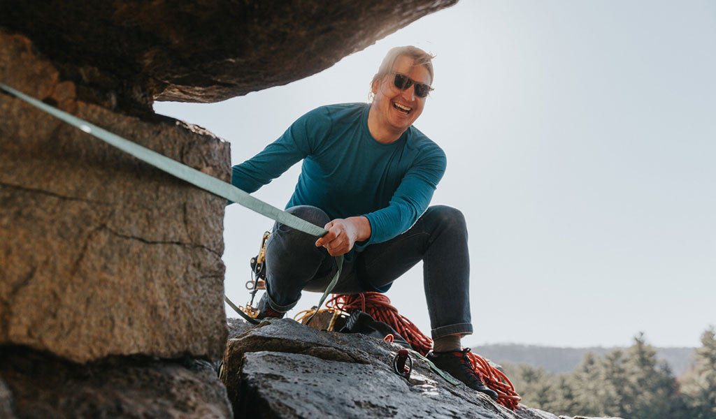 Borealis Founder Matt Guertin Talks With Climber Peter Lenz