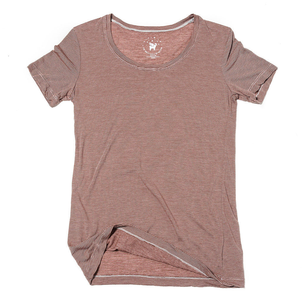 Women's Castaway Tee--Bayfield Stripe