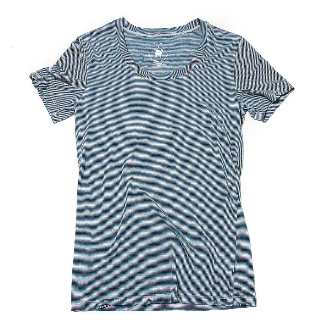 Women's Castaway Tee--Superior Stripe