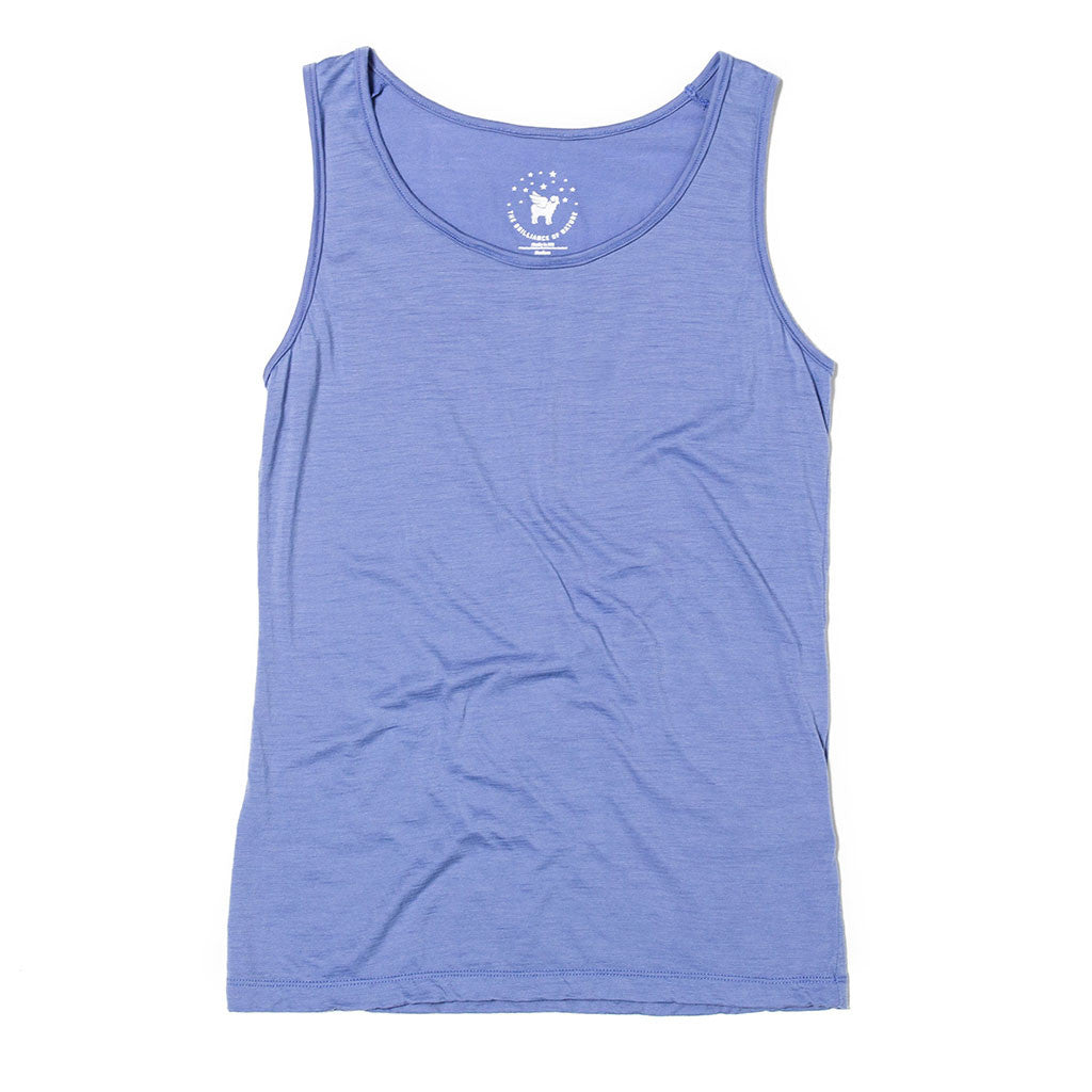 Women's Lotus Tank--Lupine