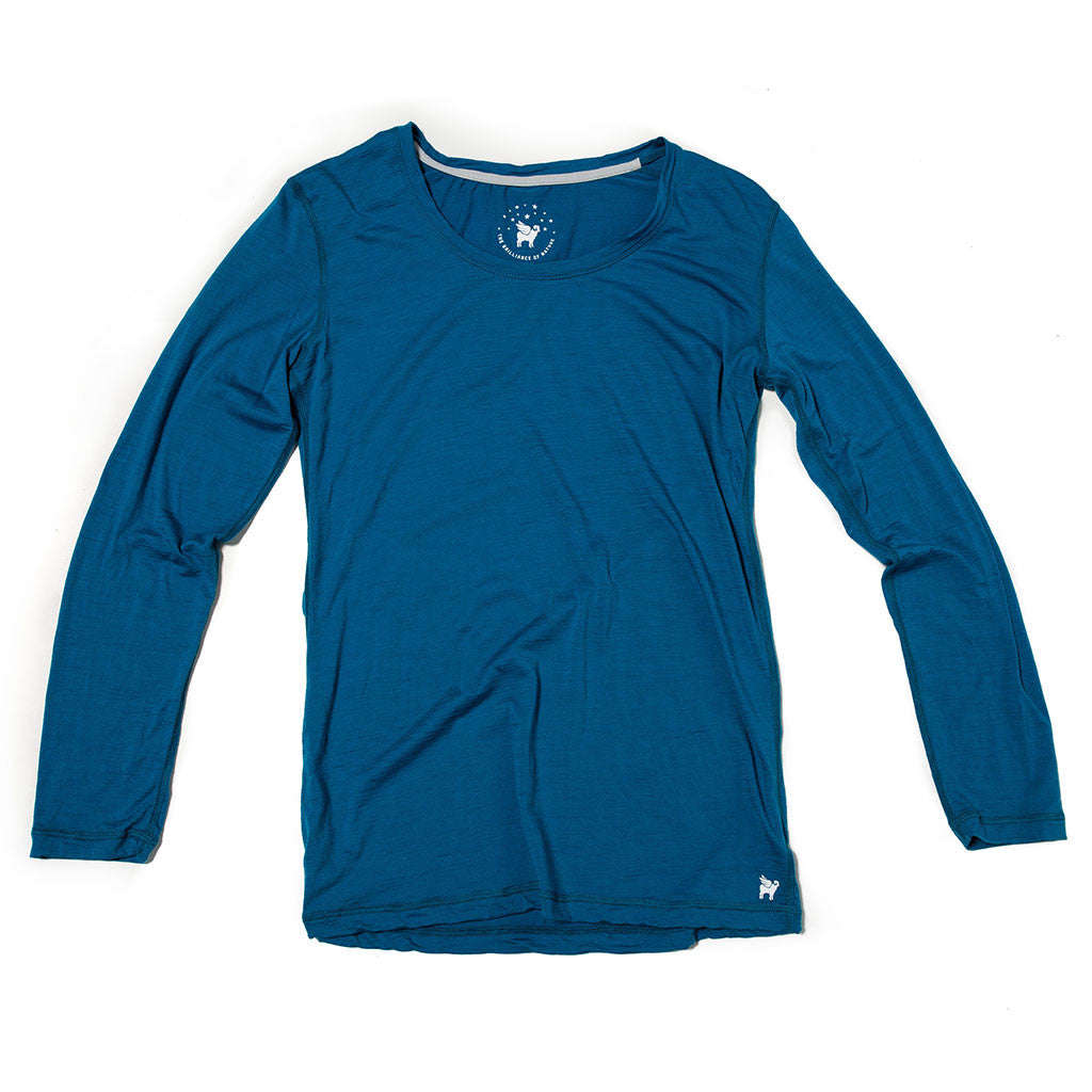 Women's Wayfarer Long Sleeve--Glacial
