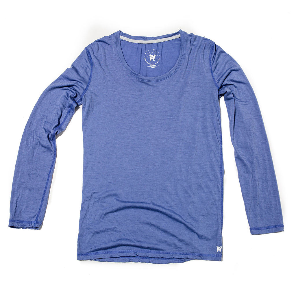 Women's Wayfarer Long Sleeve--Lupine