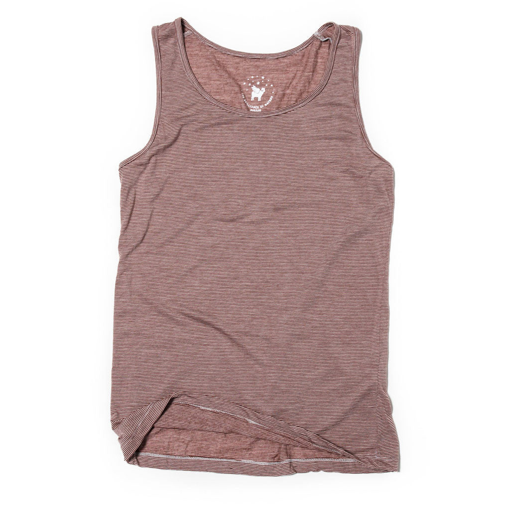 Women's Lotus Tank--Bayfield Stripe