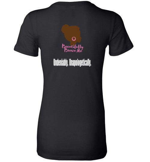 The Badass Brown Girl Tee (Ladies)
