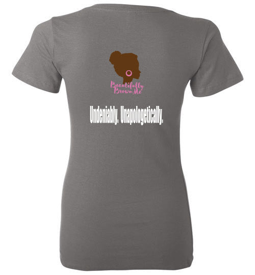 The Brown Girl Slaying Tee (Ladies)