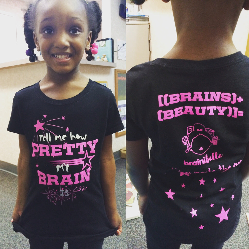 The Pretty Brain Tee Shirt