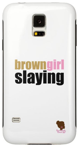 The Brown Girl Slaying Phone Case