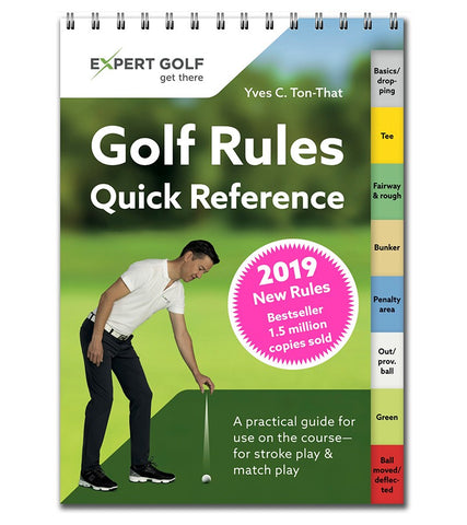 Golf Rules Quick Reference 2019 (Box of 10)