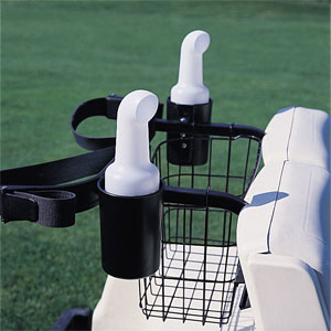 Cart Mounted Seed and Soil Caddy