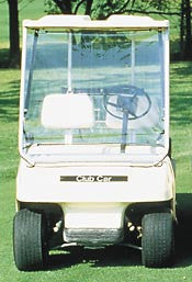 Portable Golf Cart Windshield