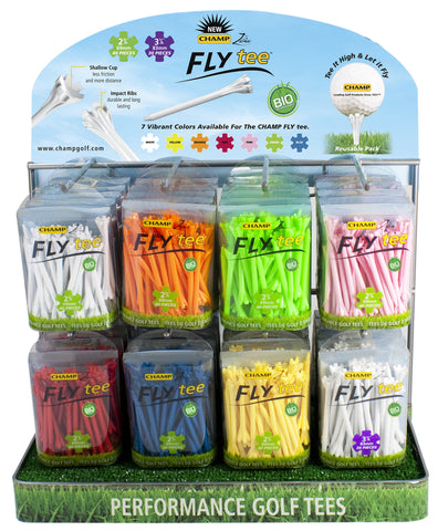 FlyTee Countertop Display