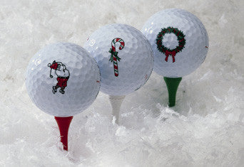Holiday Golf Balls