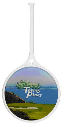 Color Logo/Photo Domed Bag Tag