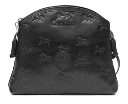 Black Signature Crossbody Bag