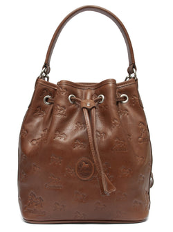 Camel Signature Bucket Bag