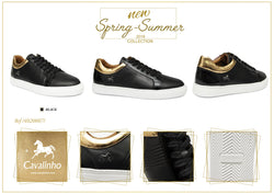 Black & Golden Men's Sneaker