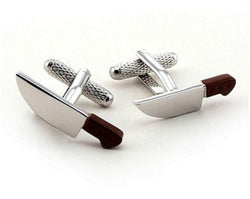 Chefs Knife Cufflinks