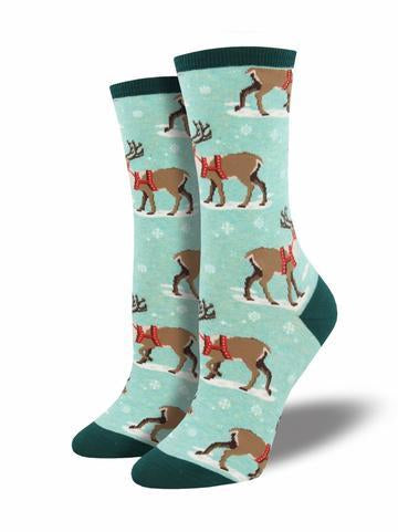 WINTER REINDEER SOCKS