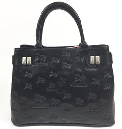 Black Signature Handbag