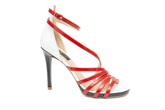 Red Strappy Sandal